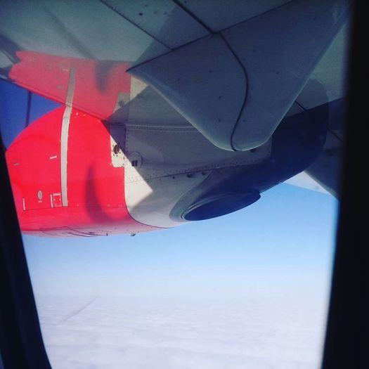 #jagkanflygajagärinterädd dagens #himmelsvida #utsikt @flysas