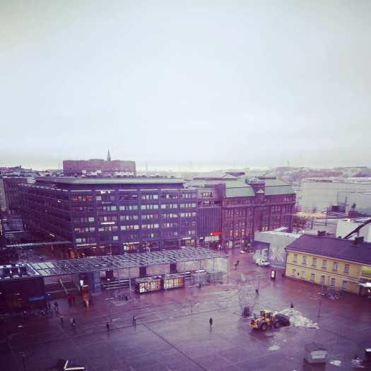 #storstad idag #Helsingfors #grått och #vått med många #storastugor